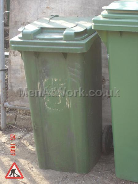 Domestic Wheelie Bin – Green - domestic wheelie bin (4)