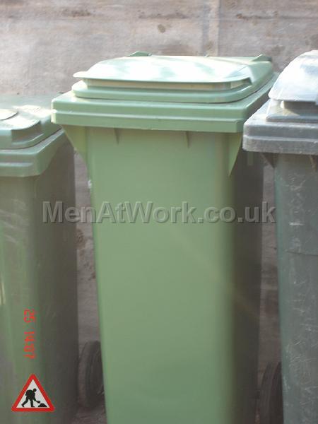 Domestic Wheelie Bin – Green - domestic wheelie bin (5)