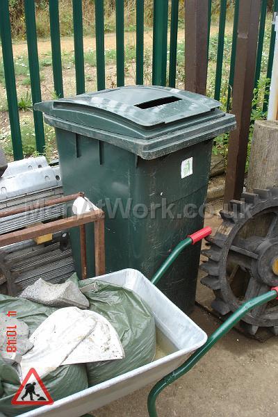 Domestic Wheelie Bin – Green - domestic wheelie bin (8)