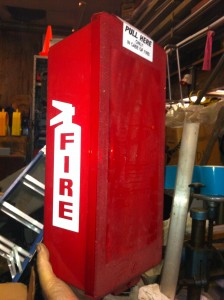 Fire Extinguisher - Storage Box