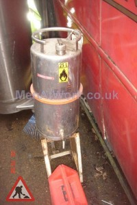 Flammable liquid tank and tap - flamable liquid tank and tap