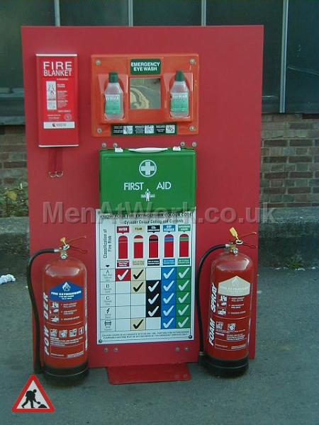 portable fire extinguisher kit - health and safety