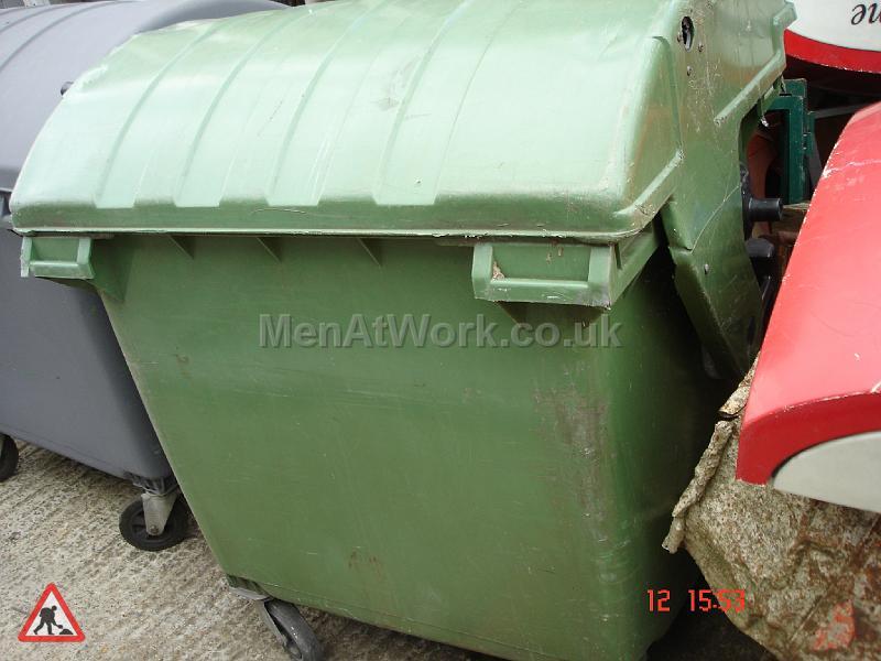 Industrial Bins Green - industrial bin green (4)
