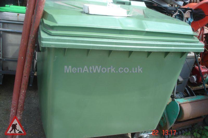 Industrial Bins Green - industrial bin green (8)