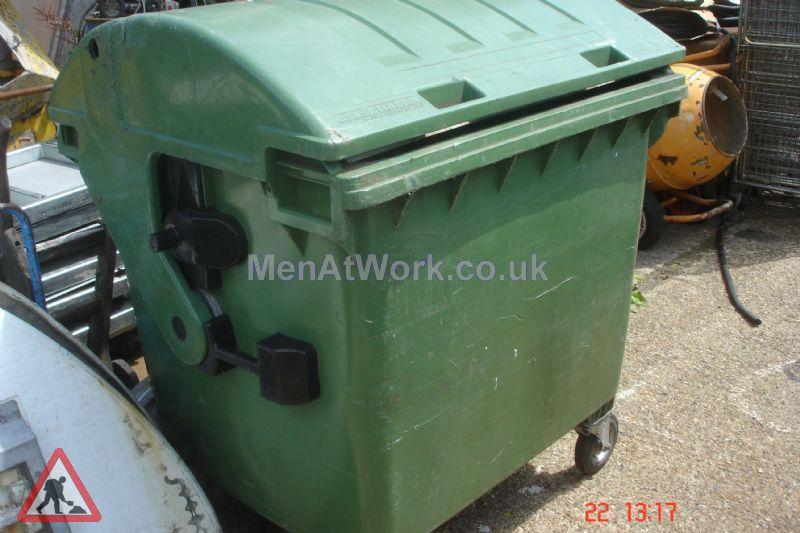 Industrial Bins Green - industrial bin green