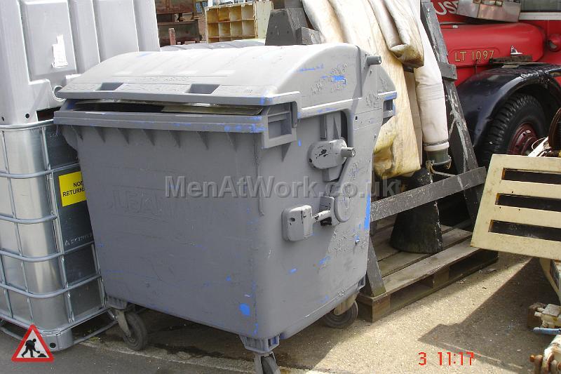 Industrial Bins Grey - industrial bin grey (10)