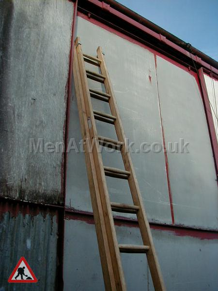 Wooden Ladders – Various Sizes - ladder 6a – 22′ 11