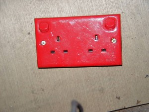 Light switch red - light switch red twin
