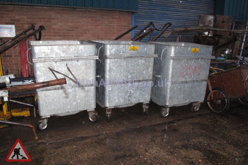 Metal Bins - metal bins