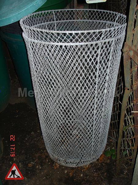 Metal Street Bins - metal mesh bins
