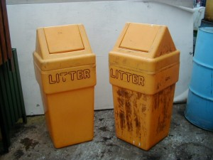 Office Bin – Letters - Side by side