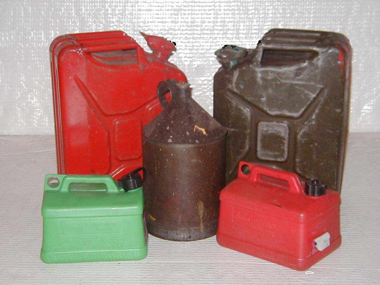Gerry Cans - petrol Cans (4)