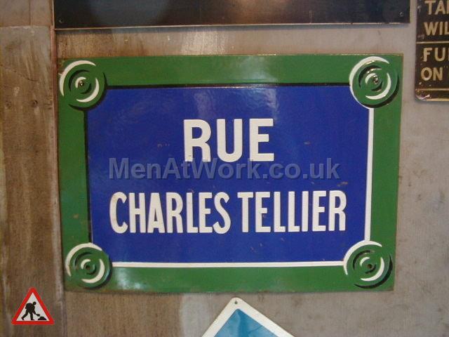 French Street Name - street name