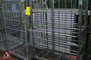 Supermarket warehouse cage - supermarket-cage