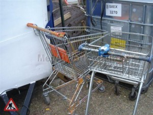 Supermarket trolleys - supermarket trolley