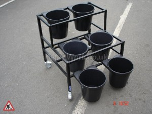 4 Bucket Holder - unit 1