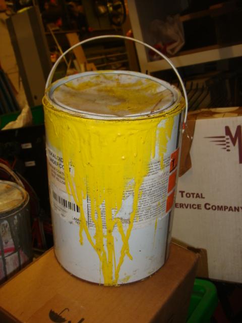Used Paint Tins - used paint pots (6)