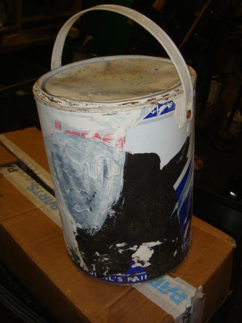 Used Paint Tins - used paint pots