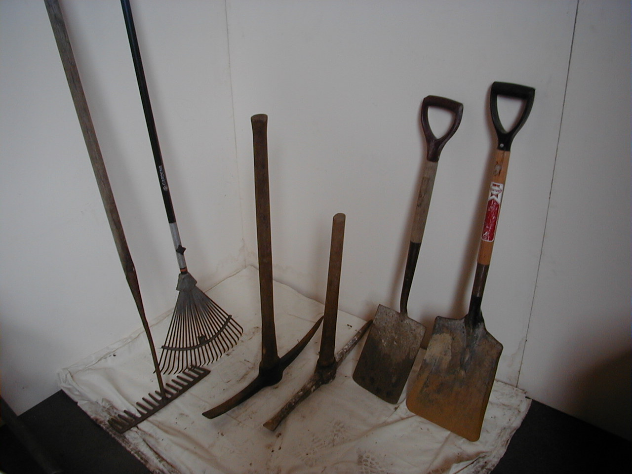 Building Site Tools - various tools