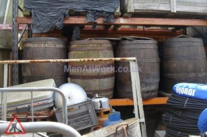 Wooden Barrels - wooden barrel