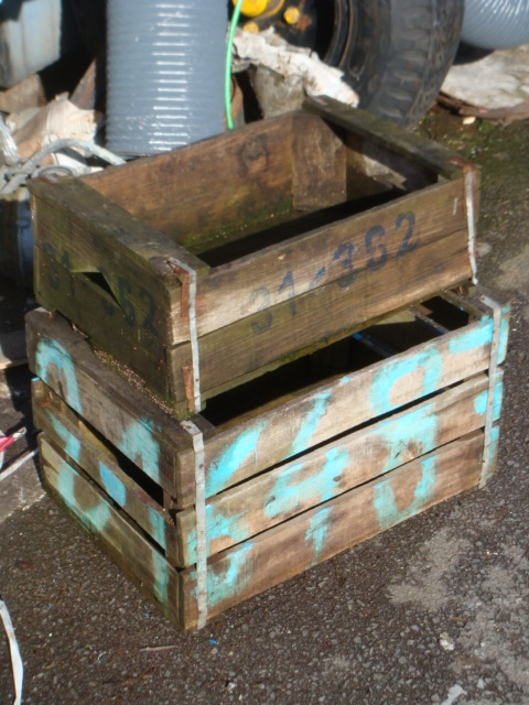 Wooden crate - wooden crate