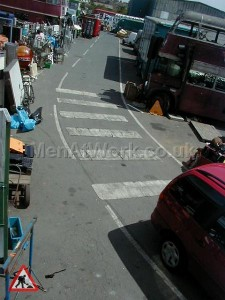 Zebra crossing - zebra crossing close up (2)
