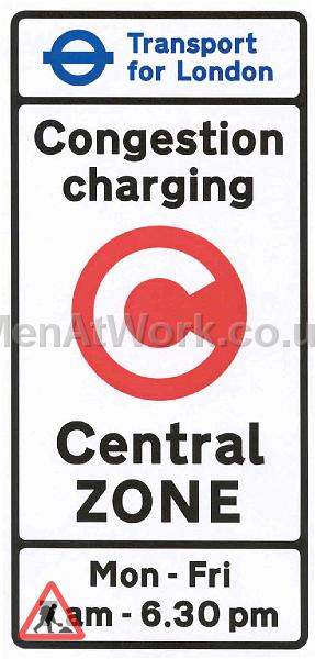 Congestion Charge Road Signs - zone_entry_sign