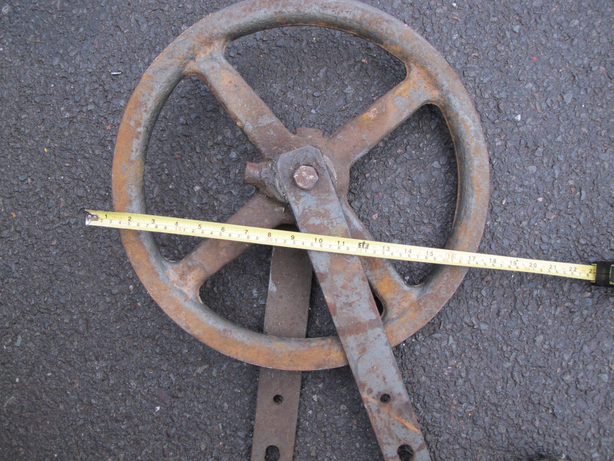 17Inch Rope Pulley - 17inch Rope Pulley