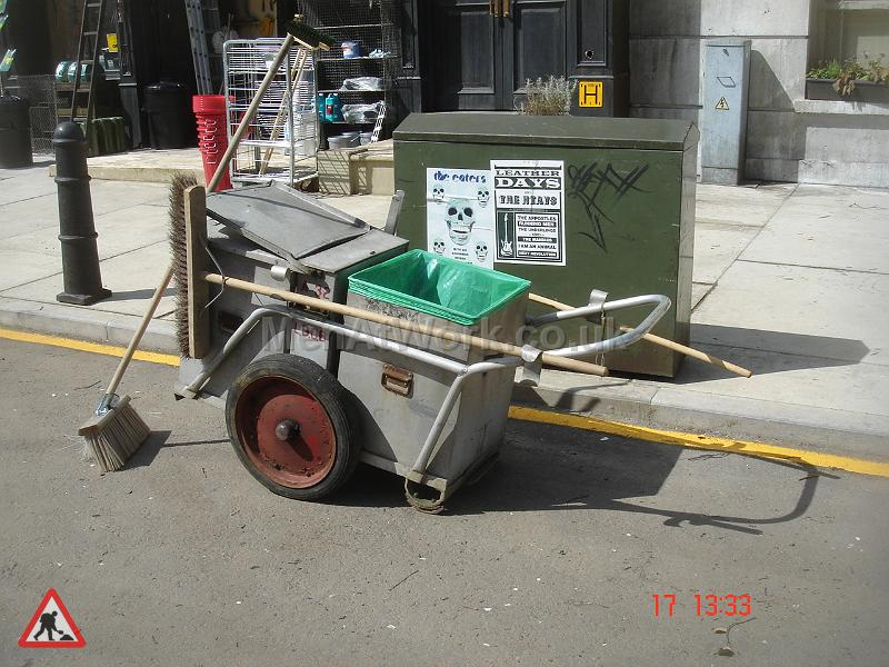 1940's Style Road Sweeper - 1940's