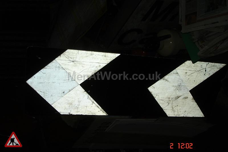 Road Signs – Arrows - 400 x 1200