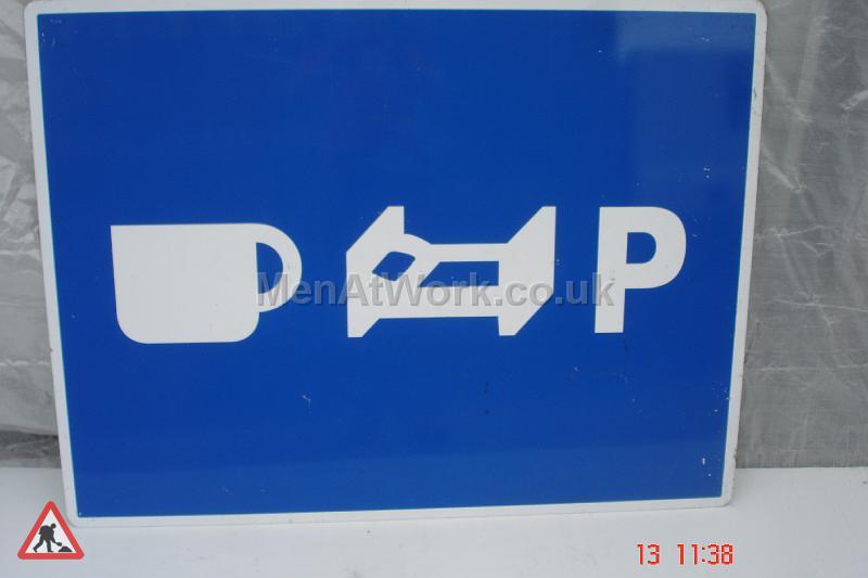 Motorway Signs - 4ft wide x 3ft drop