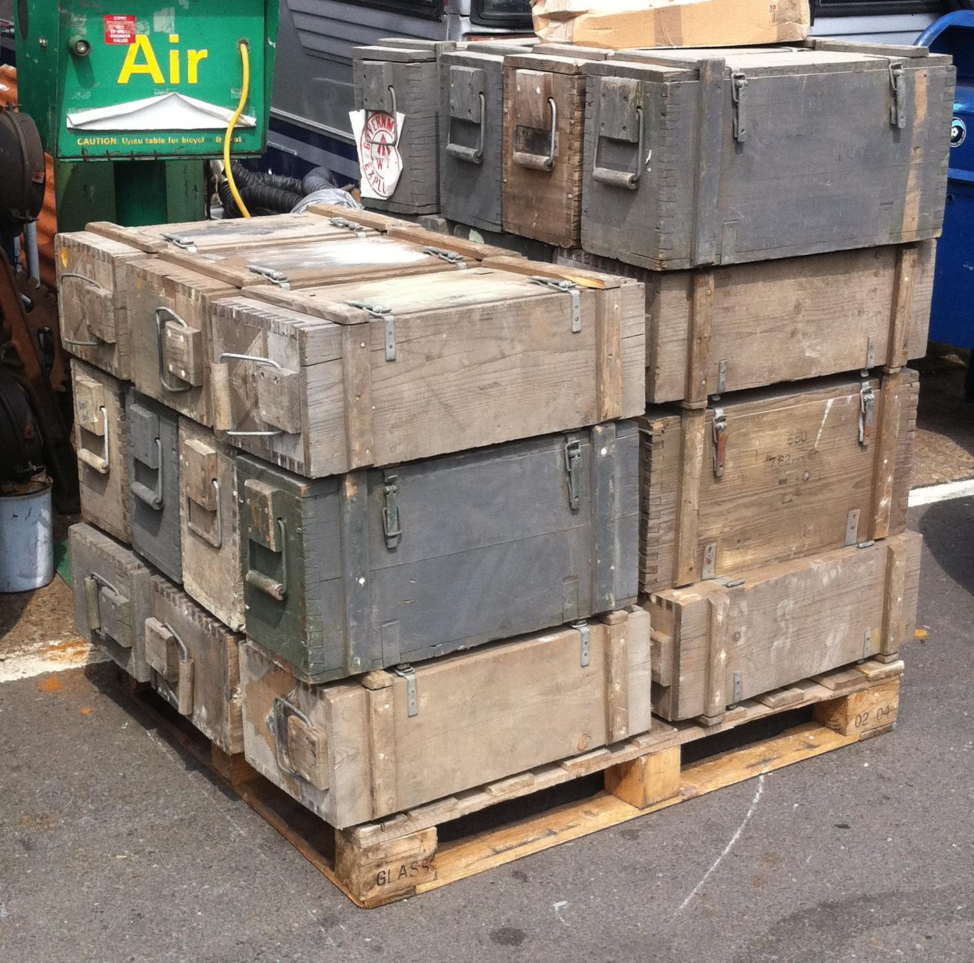 Ammunition Boxes - Amo Boxes WW2