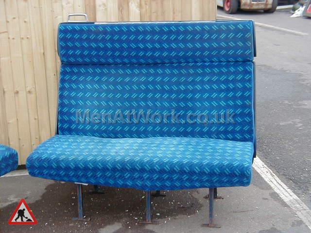 Train Seats – Blue - Blue Covered Seats (10)