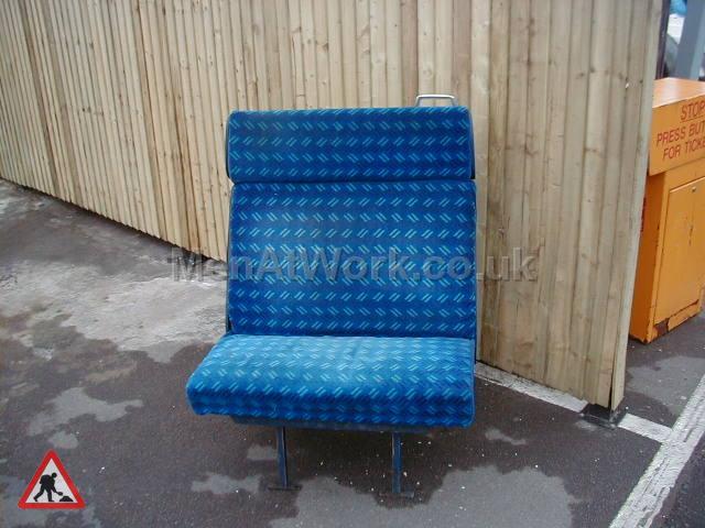 Train Seats – Blue - Blue Covered Seats (5)