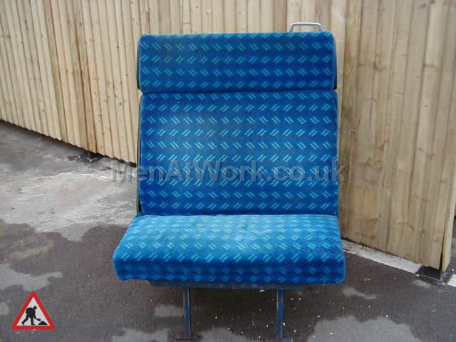 Train Seats – Blue - Blue Covered Seats (6)