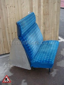 Train Seats – Blue - Blue Covered Seats (7)
