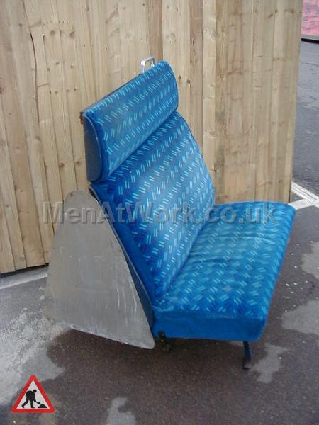 Train Seats – Blue - Blue Covered Seats (7)