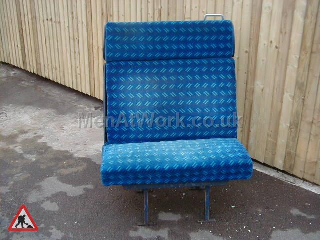 Train Seats – Blue - Blue Covered Seats (9)