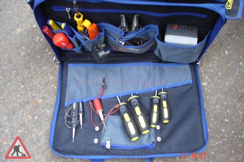 Tools – Belts & Bags - Blue Lined Tool Bag (7)