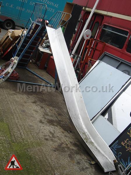 slide - Blue slide front