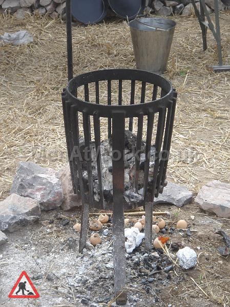Brazier, fire, A frames- period - Brazzier-period