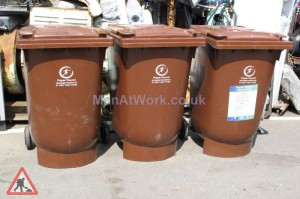 Brown Recycling Bins - Brown Cycling Bins
