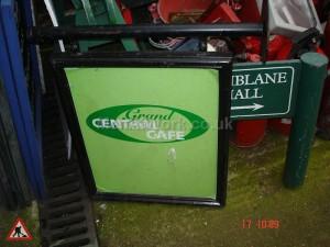 Cafe Sign - Cafe Sign