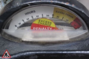 Car Parking Meters – Various - Car Parking Meter Closeup