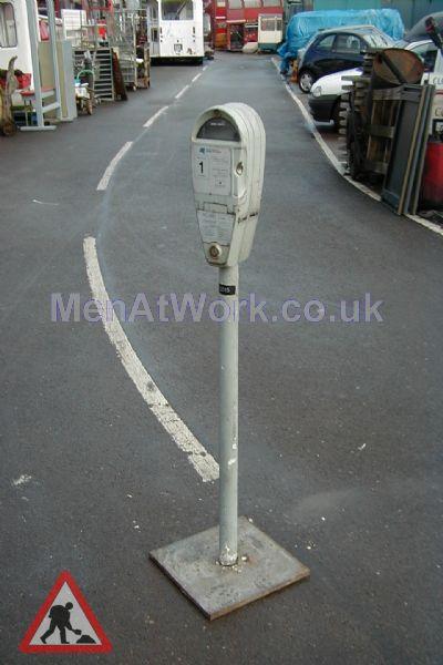 Car Parking Meter – White - Car Parking Meter – White (2)