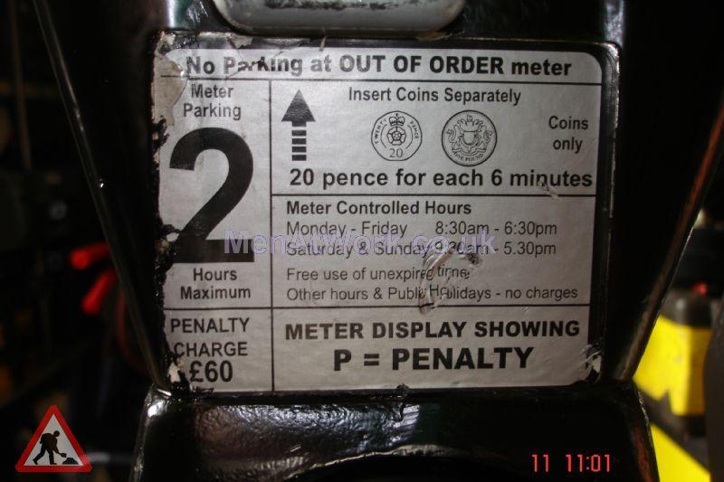 Car Parking Meters – Various - Car Parking Meters close up (2)