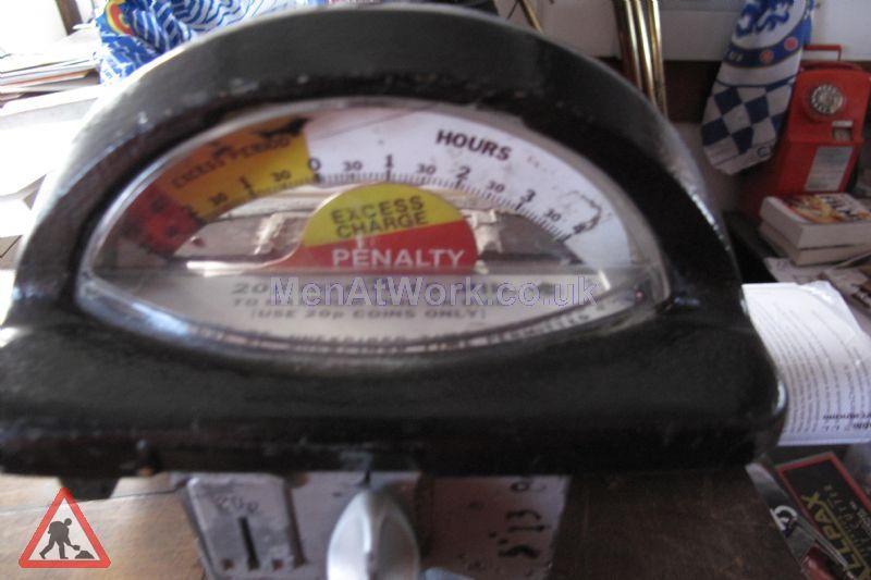 Car Parking Meters – Various - Car Parking Meters close up