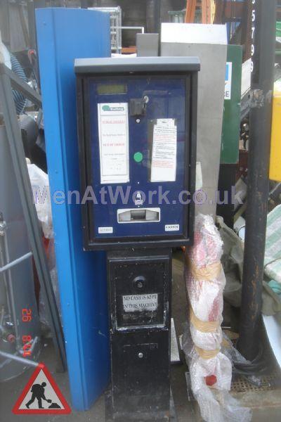 Car Parking Ticket Machine - Car Parking Ticket Machine – Blue Cover (2)