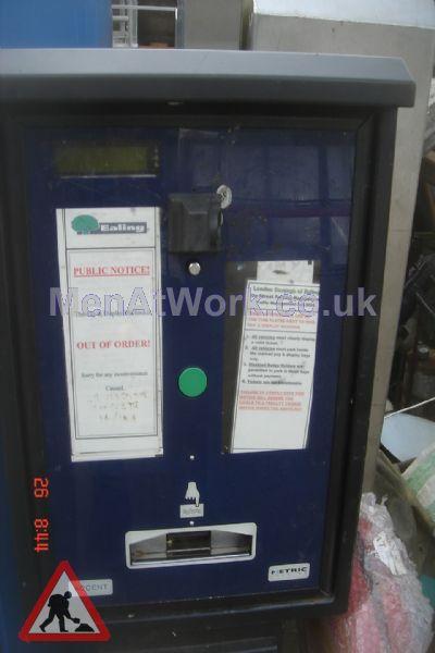 Car Parking Ticket Machine - Car Parking Ticket Machine – Blue Cover (3)