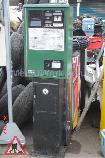 Car Parking Ticket Machine – Green - Car Parking Ticket Machine Green